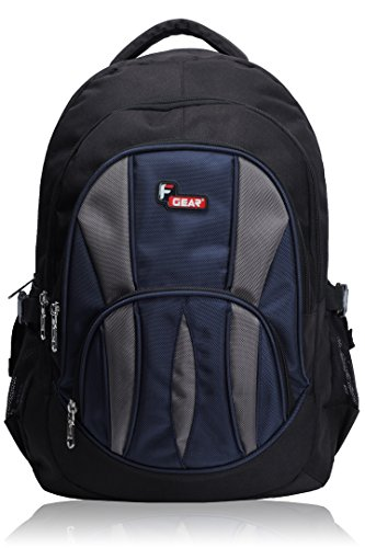F Gear Adios Backpack, Black & Blue