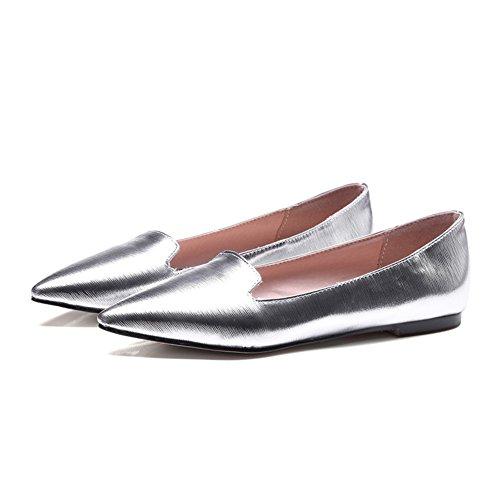 Primavera scarpe a punta piatte/Scarpe leggere/Joker scarpe di moda europea A