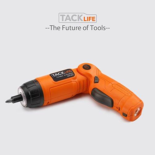 Tacklife sdh13dc taladros atornilladores destornillador for Taladro electrico sin cable