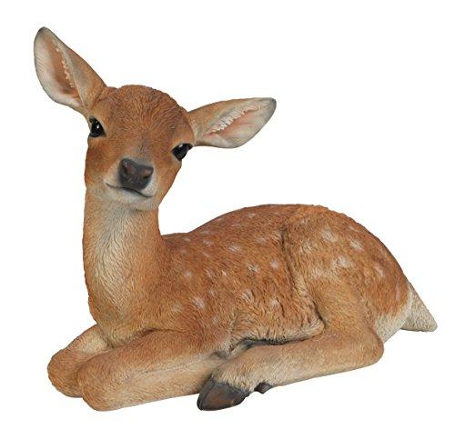 vivid-arts-xrl-deer-d-posa-daini-ornamento-resina-cervo