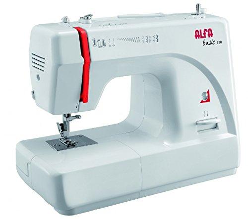 Alfa Basic 720 - Máquina de coser, 9 diseños de puntada, motor...