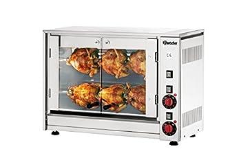 Rôtissoire poulet électrique // broches pour 6 poulets