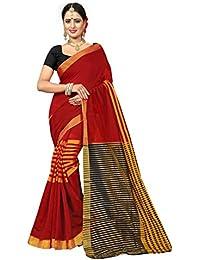 Being Banarasi Cotton Silk Saree With Blouse Piece