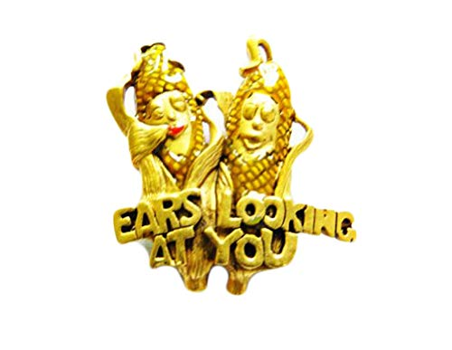 Danecraft Gold - Plated Ears Lookin' at You Casablanca Pin Brooch