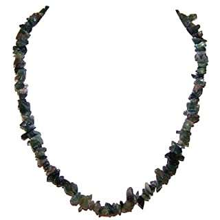 Chip Moss Agate necklace