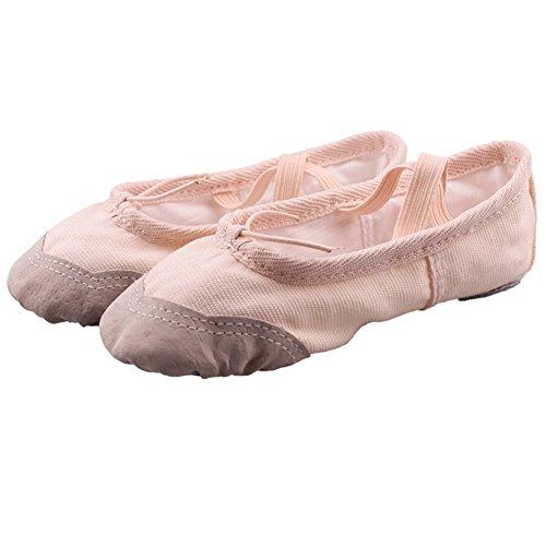 lisianthus002Little Mädchen Dance Bunnyhop Ballettschuh (Little Kid) Hautfarben