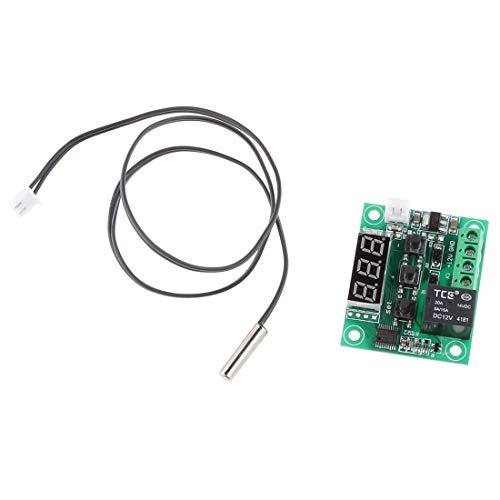 Digitales Thermostat, Steuerungskarte, Temperatur W1209-50-110 12 V, mit Sensor für alle -