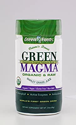Rio Trading Organic Green Magma Barley Juice Extract Powder 80g from Queenswood Natural Foods Ltd