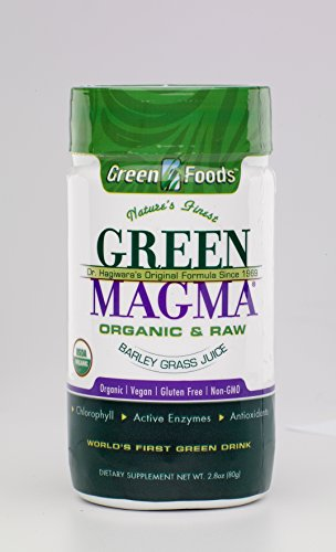 Price comparison product image THREE PACKS of Rio Trading Co Green Magma Green Barley Grass Powder - Organic 80g