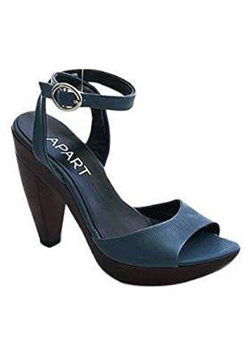 Sandalette von Apart Leder in blau Blau