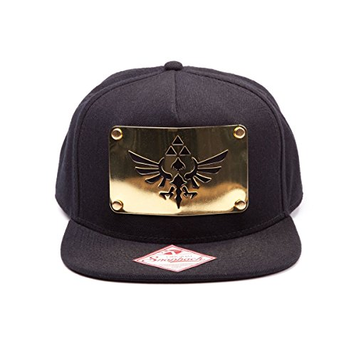 Nintendo Zelda Cap Mütze Metal Plate Logo Wide Bill Cap Schirmmütze The Legend Of Zelda Twilight Princess