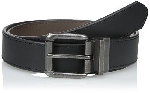 Wrangler Men's Authentics Reversible Belt, Black/Brown, 36