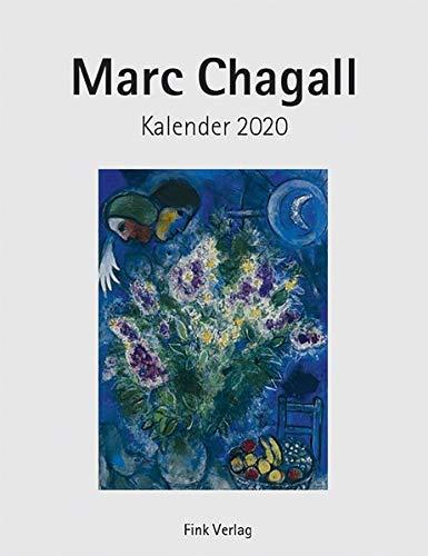 Marc Chagall 2020: Kunst-Einsteckkalender