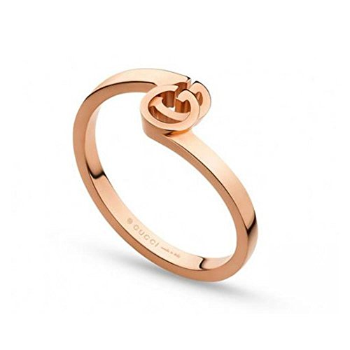 Gucci Damen-Ring Running 750 Rotgold Gr. 53 (16.9) - YBC457122001014