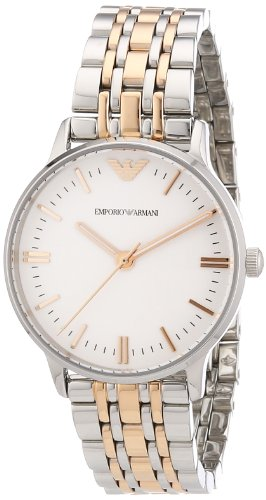 Emporio Armani Women's Quartz Watch AR1603 with Metal Strap