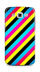 AMEZ designer printed 3d premium high quality back case cover for Samsung Galaxy Grand 2 G7102 (abstract stripes)