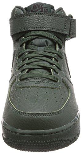 Nike Air Force 1 (Gs) 314195 Scarpe Sportive da Bambini E Ragazzi Grove Green/Black-grove Green