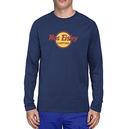 Und Han Kostüm Chewie - Mos Eisley Cantina - Herren Langarm T-Shirt, Größe: M, dunkelblau