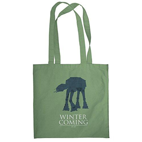 Texlab–At At Winter Is Coming–sacchetto di stoffa Oliva