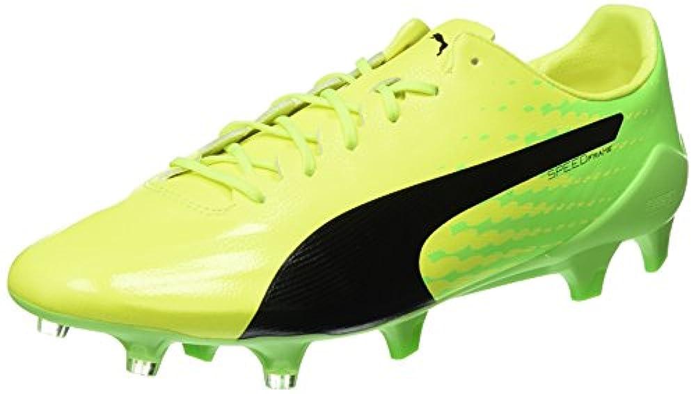 085896e2 Puma Herren evoSPEED 17 SL S FG Fußballschuhe, Gelb (Safety Yellow Black- Green