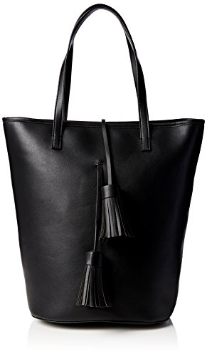 french-connection-multi-tassel-betty-tote-sac-femme-noir-noir