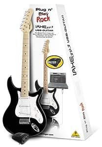 BEHRINGER GUITARE ELECTRIQUE IAXE393-BK USB-GUITAR
