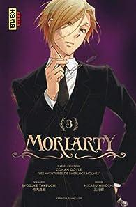 Moriarty, tome 3 par Ryosuke Takeuchi