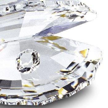 Swarovski Kristall Figur Muschel Shell m Perle 3 cm SCS & Schwanen-Logo in OVP !