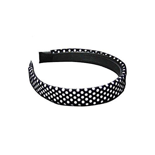 Rockabilly Haarreif Haarband Haarschmuck Stirnband mit Punkten Skull Zebra Leopard 2 cm Einheitsgröße 100% Polyester (84120-172-000)