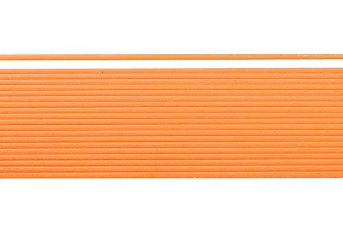 Wachsstreifen / Verzierwachs 'Orange' (20 Stück / 20 cm x 1 mm) TOP QUALITÄT