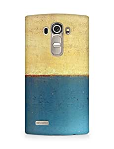 Amez designer printed 3d premium high quality back case cover for LG G4 (Art abstract classic paint illust blue)