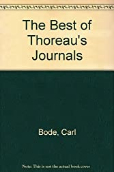 The Best of Thoreau's Journals