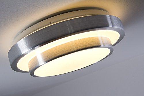 Led bad decken leuchte mit warmwei em licht aus aluminium - Wohnzimmer licht aus ...