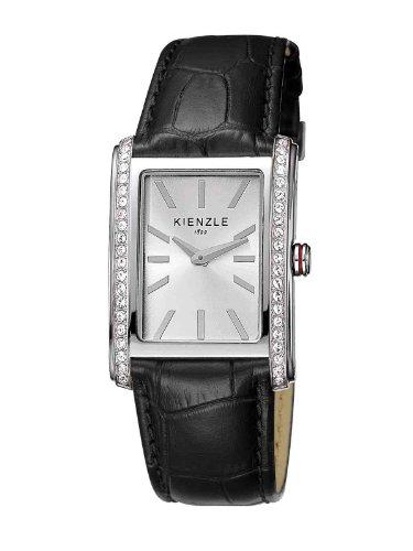 Kienzle K5072011011-00110 - Reloj analógico de cuarzo para mujer con correa de piel, color negro