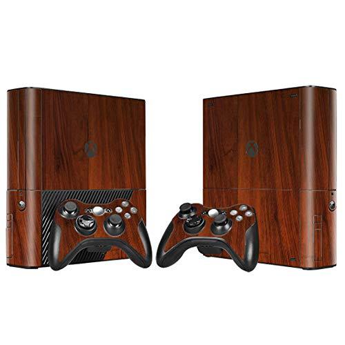 Skin für Xbox 360 E Konsole und 2 Fernbedienungen - Woonden