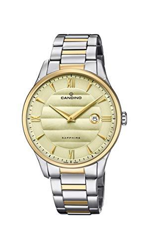 Candino Reloj Analógico para Hombre de Cuarzo con Correa en Acero Inoxidable C4639/2