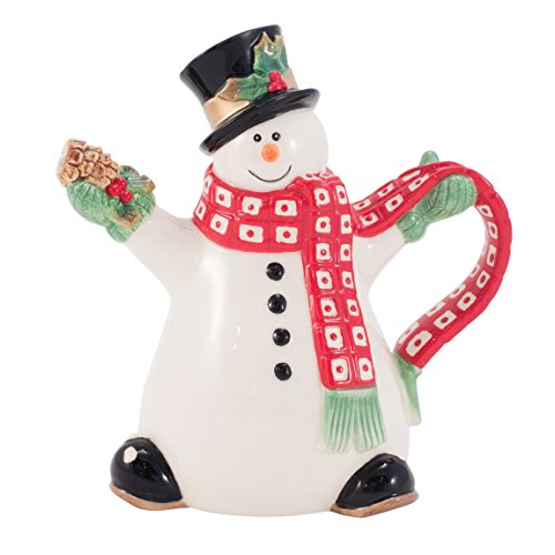 Holly Berry Bonhomme de neige Collection Mini Pitcher Floyd Pitcher