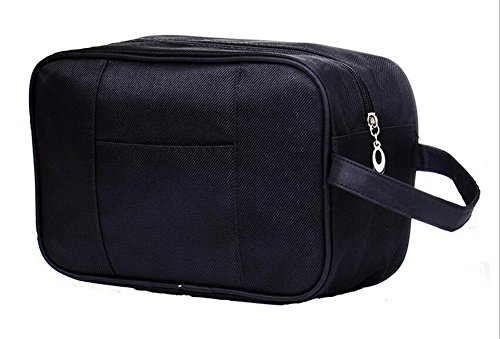 tumecos-dopp-kit-waterproof-travel-bag-travel-accessories-organizer-toiletry-bag-black