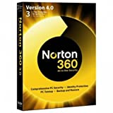 Picture Of Norton 360 v4 Exclusive Gold Edition 3 User Licence
