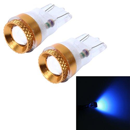 Éclairage de la voiture, 2 PCS T10 1W Luminaire de voiture avec 1 lampe LED SMD-5050, DC 12V