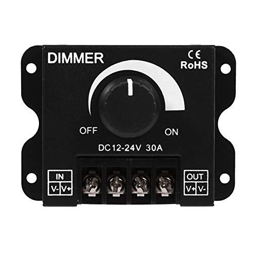 Dimmer Controller 12 V-24 V 30A Led Schalter Manuelle Bedienung für Led streifen Licht Einfarbig einfarbige LED Streifen Beleuchtung Lampe Band Licht -