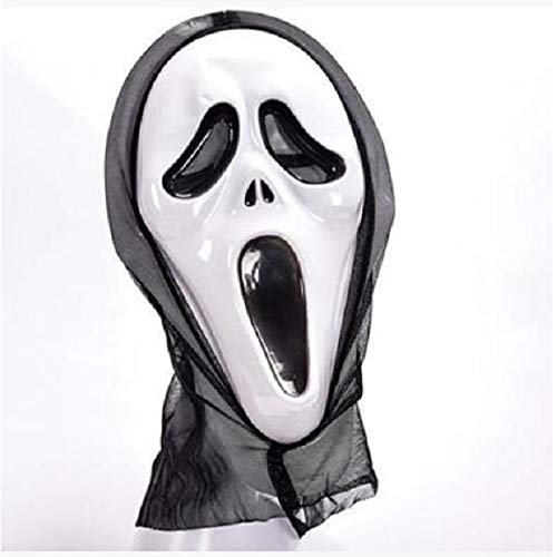 Kostüm Zwei Pferd Personen Für - AMSIXP Maske Halloween Beängstigend Cosplay Kostüm Maske Scream Schädel Geist Maske Multi-Form Beängstigend Halloween c