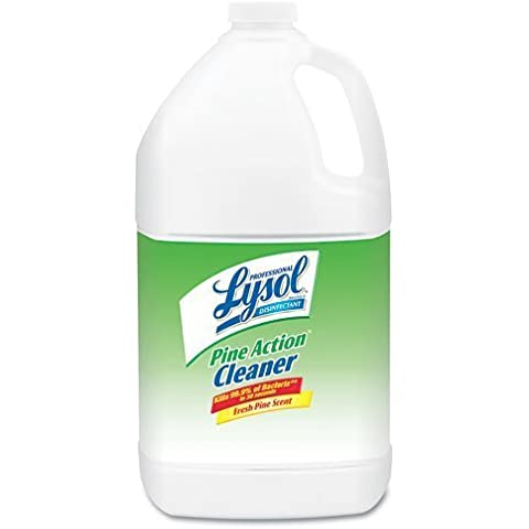 Professional LYSOL Brand Products - Professional LYSOL Brand - Disinfectant Pine Action Cleaner, 1 gal. Bottle - Sold As 1 Each - Kills staph, strep, salmonella, pseudomonas and other harmful germs on hard, nonporous surfaces. - Prevents odors and growth of mold and mildew. - Concentrated formula makes 64 gallons of cleaner. - Pleasant scent. - EPA Registered. by Professional LYSOL Brand Products
