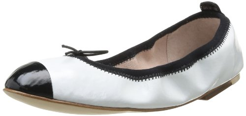 Bloch - Luxury Ballet, Ballerine Donna Bianco (Blanc (White/Black))