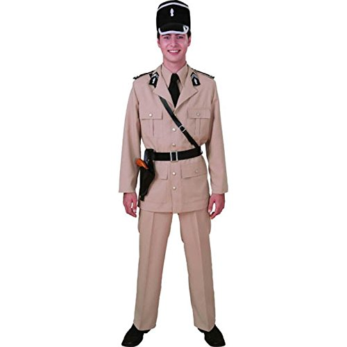 Unbekannt Aptafêtes-cu010506/60-62--Kostüm policier-Gendarme von Saint Tropez-Größe - Policiere Kostüm