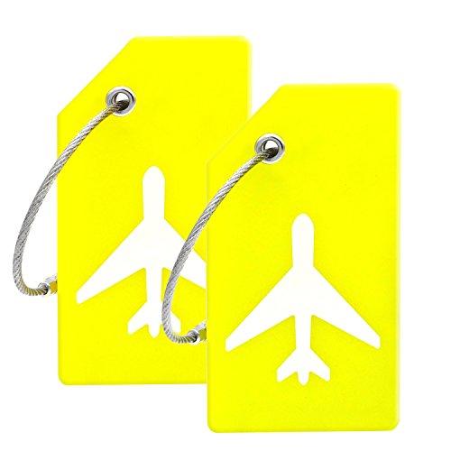 ger Gelb Yellow 2 Pack Tags Einheitsgröße ()