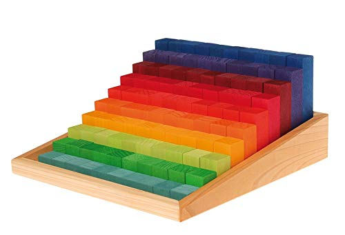 Grimm's Toys Stepped Counting Blocks