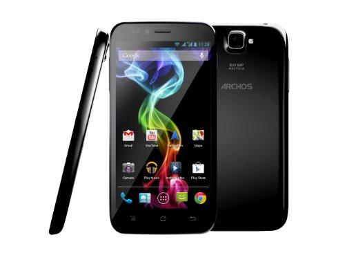 Archos 50 Platinum - Smartphone libre Android  pantalla 5   c  mara 8 Mp  4 GB  1 2 GHz   negro
