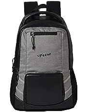 F Gear Intellect Melange 32 Ltrs Black Casual Backpack (2706)