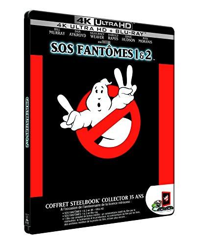 SOS Fantômes 1 & 2 [SteelBook Collector 35 ans - 2 4K Ultra HD + 2 Blu-ray + Blu-ray bonus]